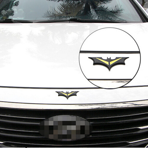 3D Personalized Bat Sign Car Decal Stickers for Auto Truck Vehicle Motorcycle