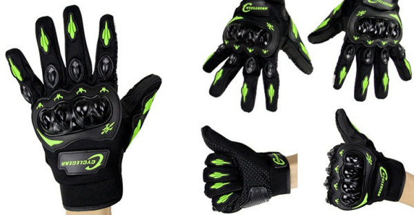 Motorcycle Full Finger Gloves Touch Screen For Dirt Bike Racing Cycling CG666