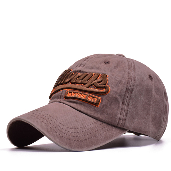 Men Women Letter Always Embroidery Cotton Baseball Cap