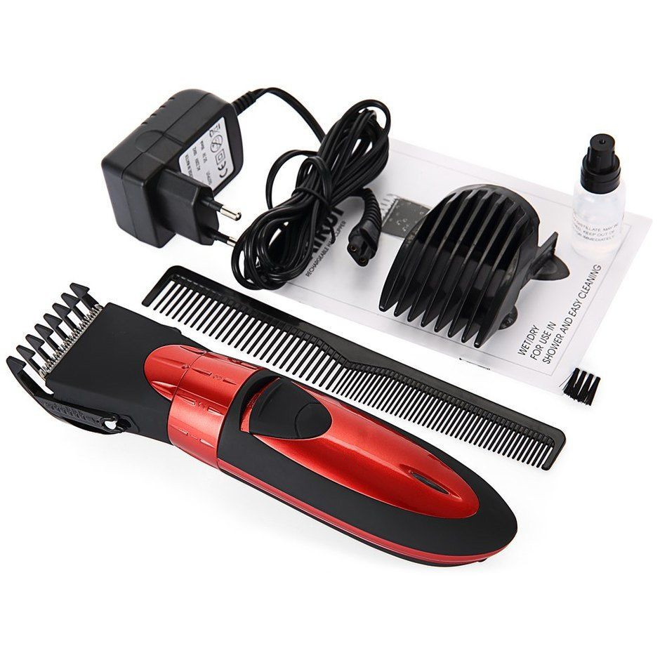 Waterproof Electric Hair Clipper Trimmer Mens Shaver Razor Beard Cutting Machine