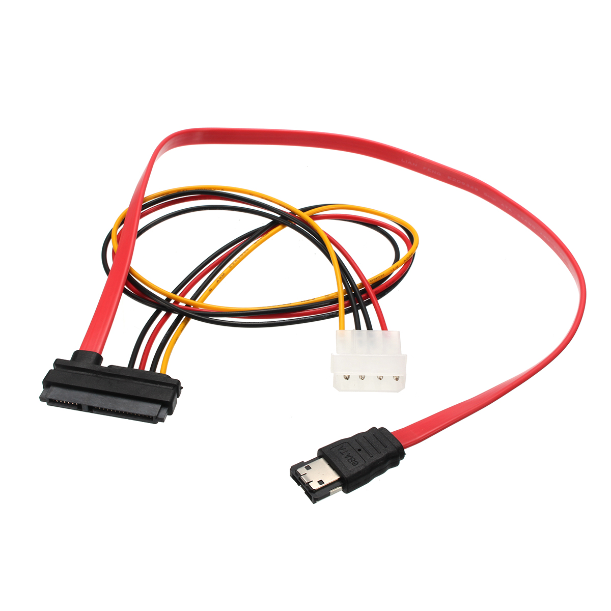 7 15 22pin Sata Interface To Esata Port Large 4pin Power 50cm Micro Data Cable Conversion