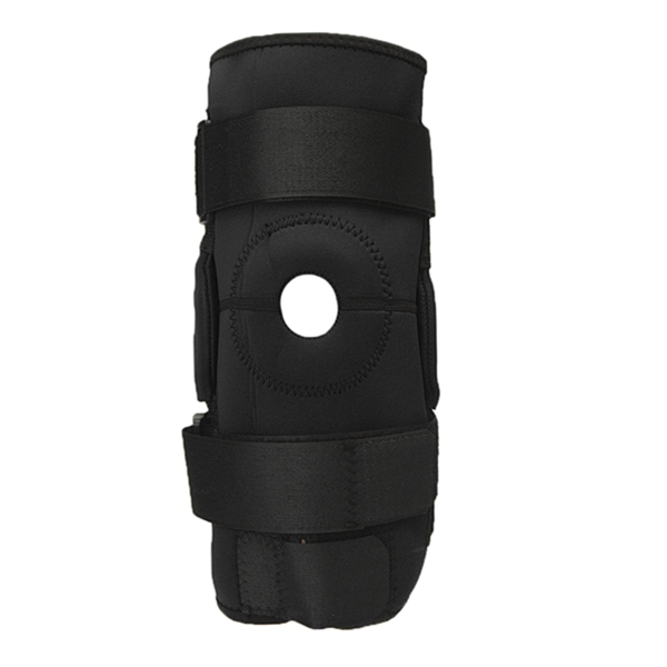 Adjustable Neoprene Hinged Patella Knee Support Strap Pain Relief Brace Sport