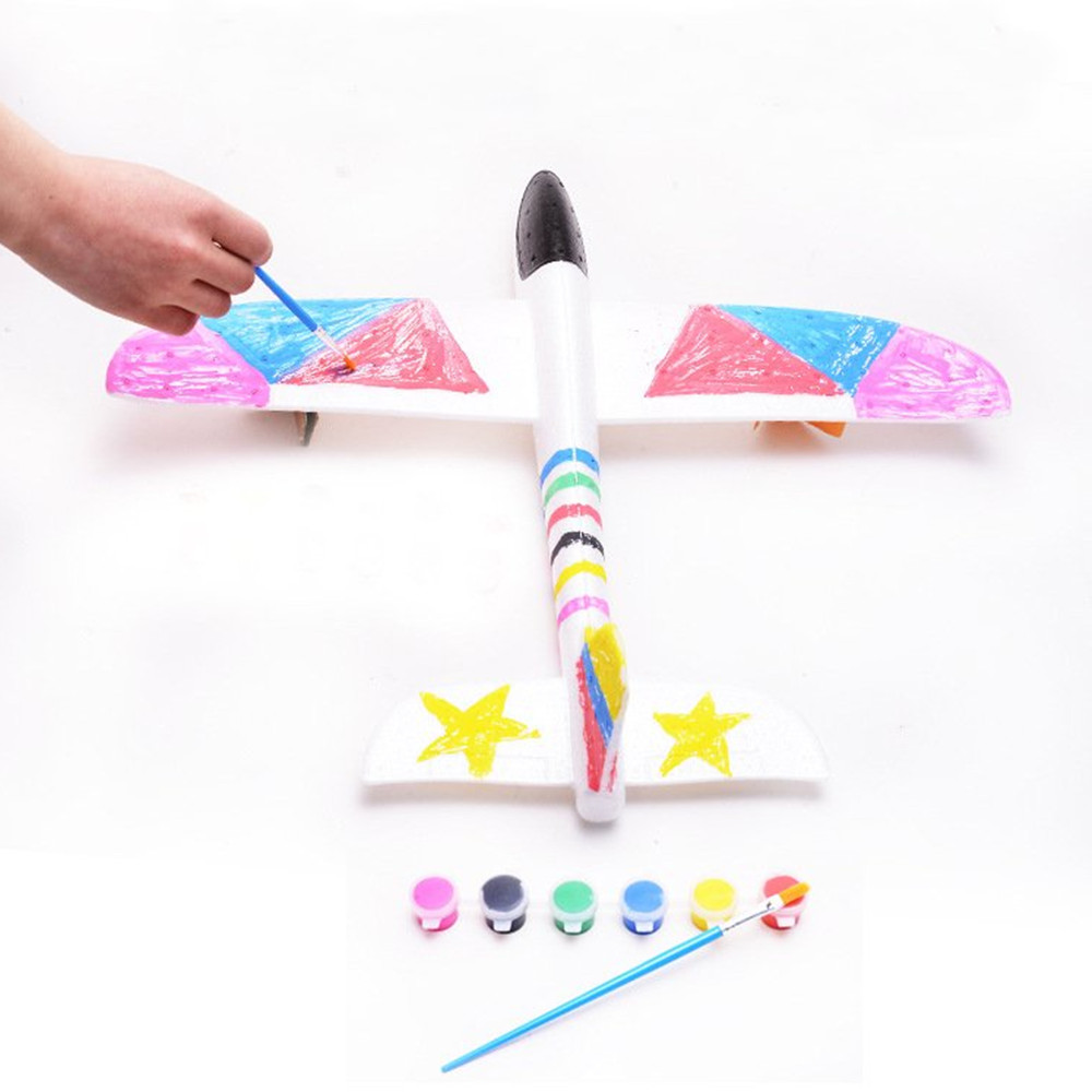 48cm Big Size Hand Launch Throwing Aircraft Airplane Glider DIY Inertial Foam EPP Children Plane Toy