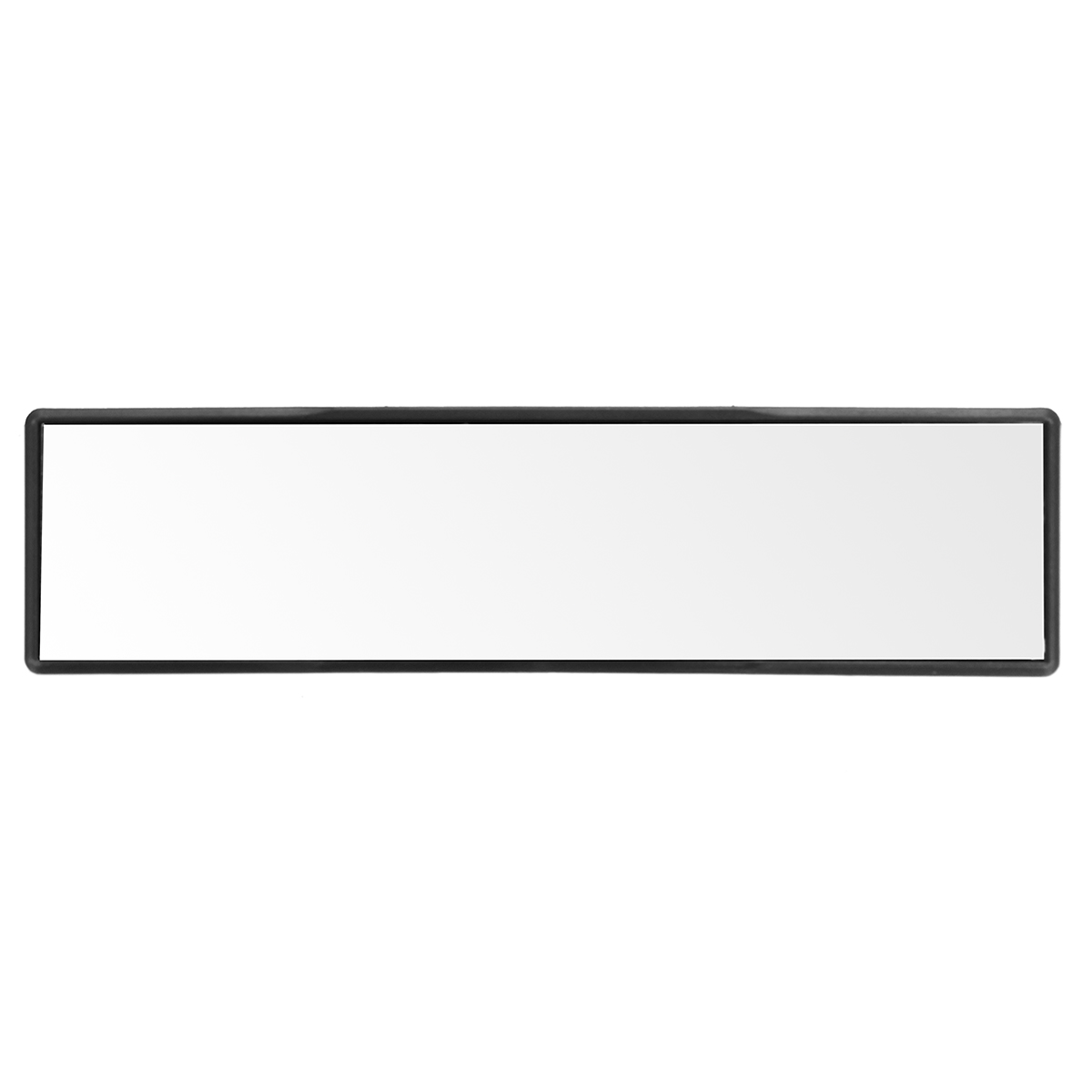 270mm Wide Flat Interior Clip-On Rear View Clear Plane Glass Mirror Universal