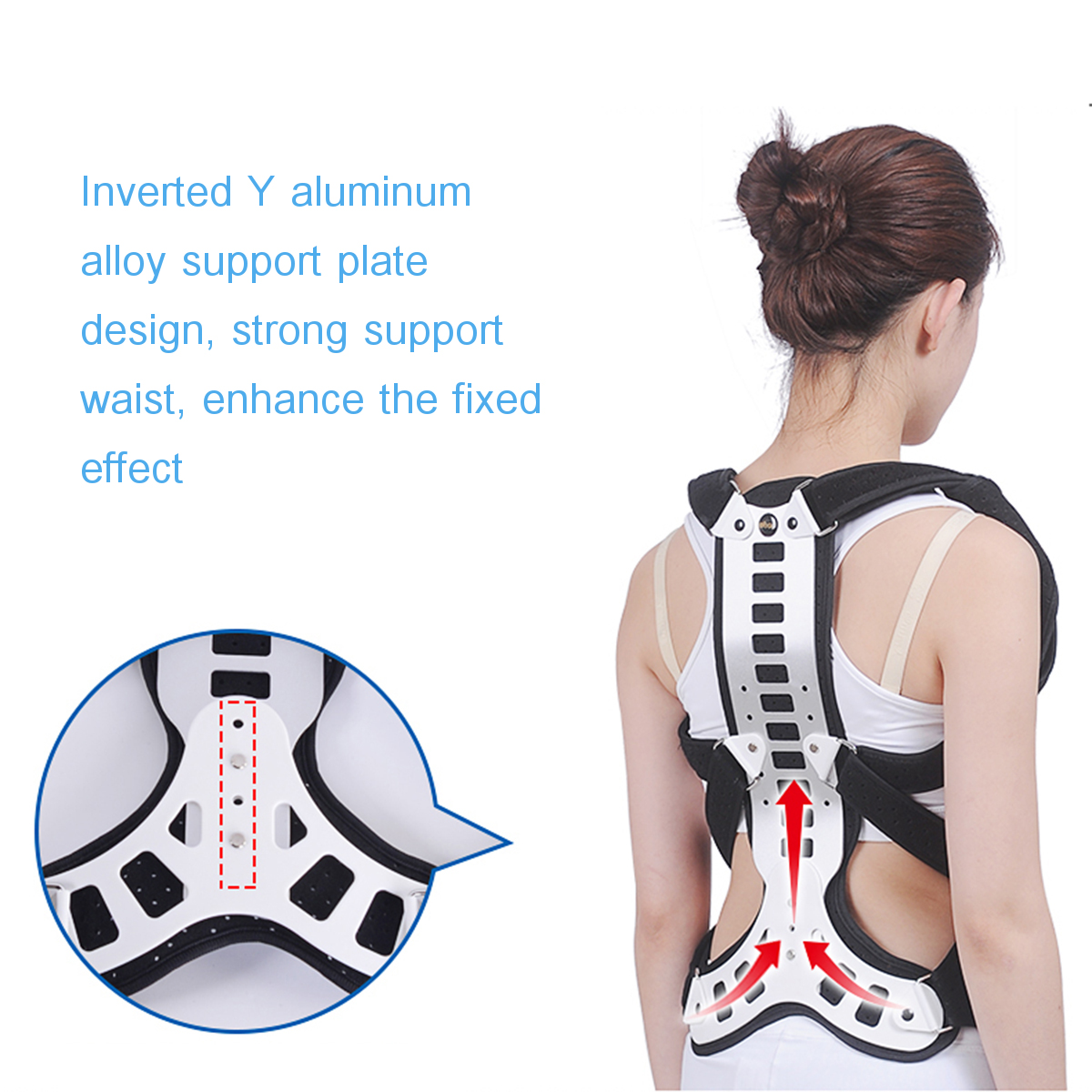 Spinal Brace Support Spine Recover Orthotics Corrector