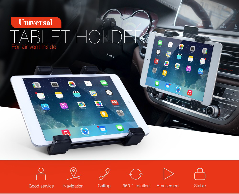 Universal Car Air Vent Mount Tablet Holder Stand For 7\