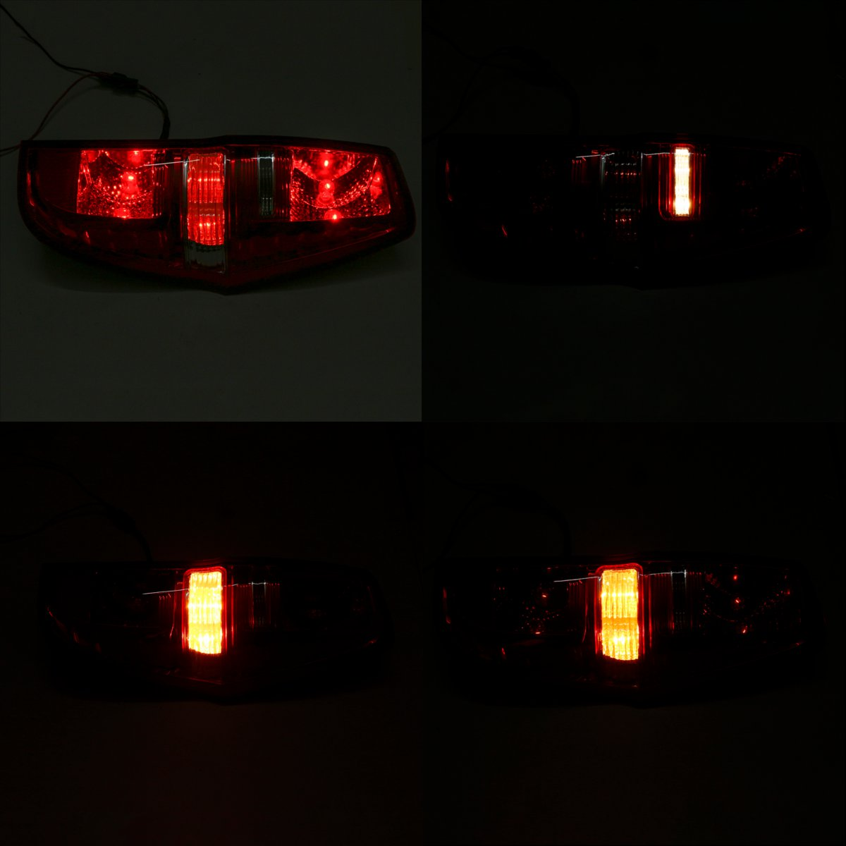 Left/ Right Car Rear Tail Light w/ Lamp Wire Harness for Hyundai Iload Imax 2007-2016