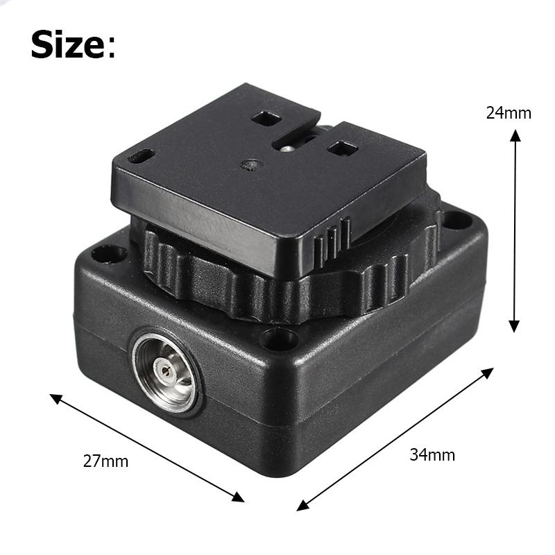 Flash Speedlite Hotshoe Converter Adapter for Sony MI to A7 A7 II A7S A7R A3000 A6000 A5000 NEX-7 NEX-6 NEX-5R NEX-5T NEX-3 RX1 RX1R RX10 RX100II HX50