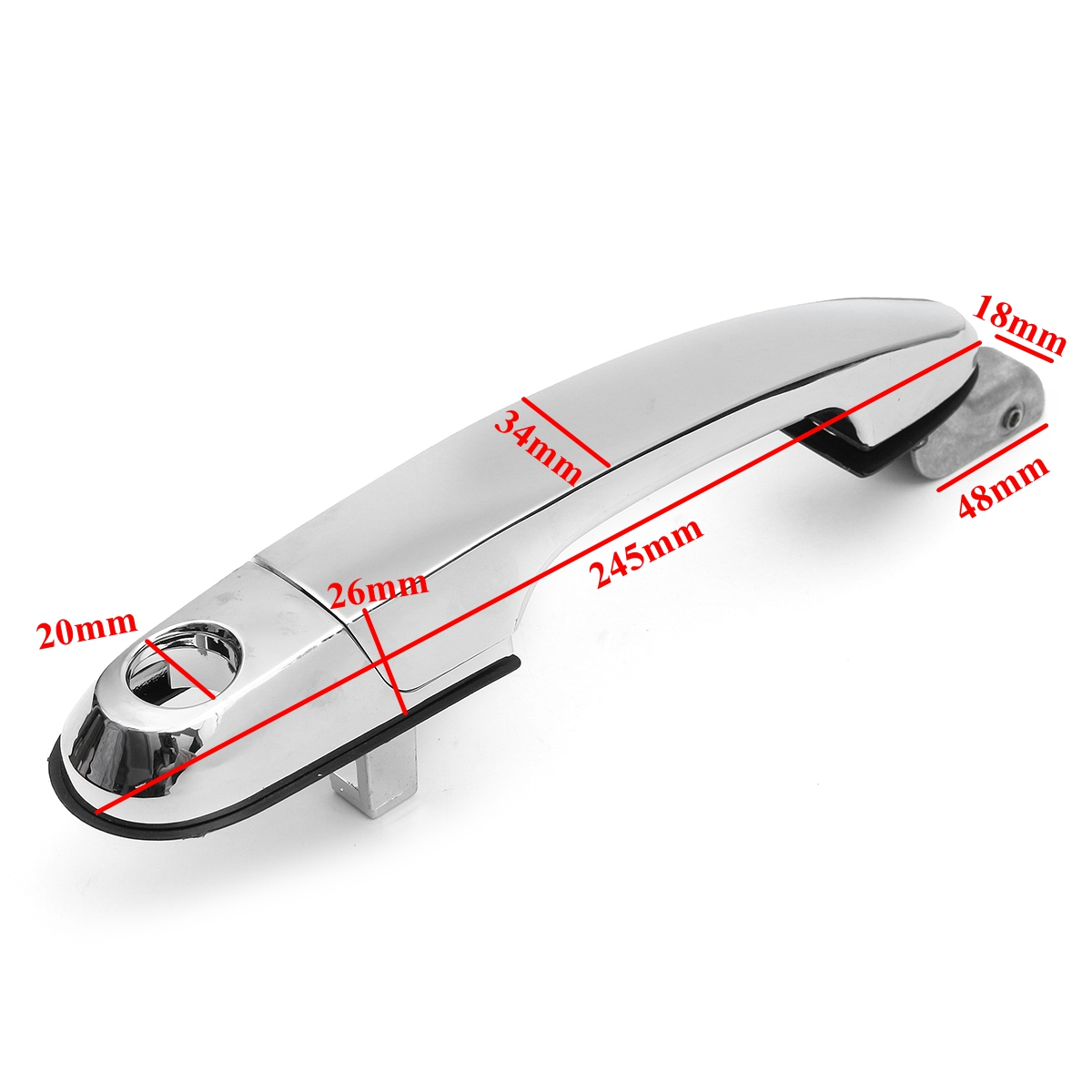 Exterior Chrome Car Front Right Door Handle For Hyundai Tucson 2005-2009
