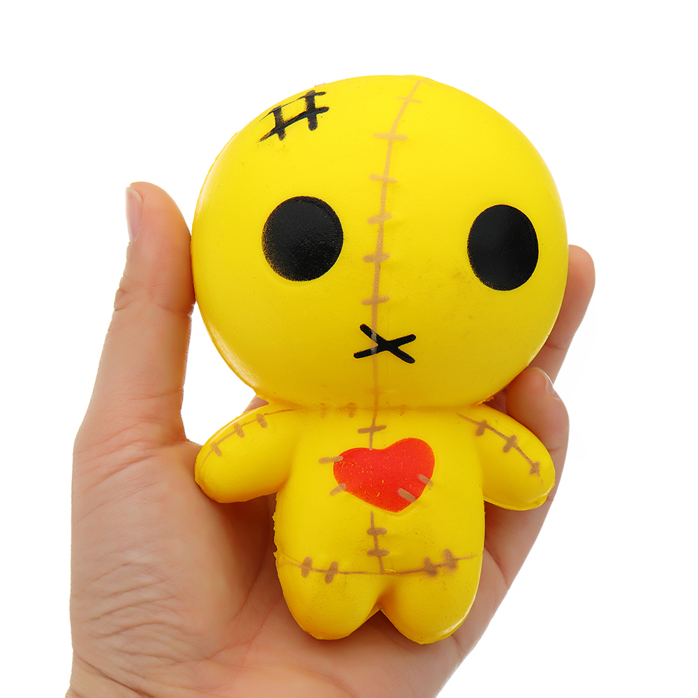 Mummy Line Puppet Squishy 12cm Halloween Slow Rising With Packaging Collection Gift Soft Toy