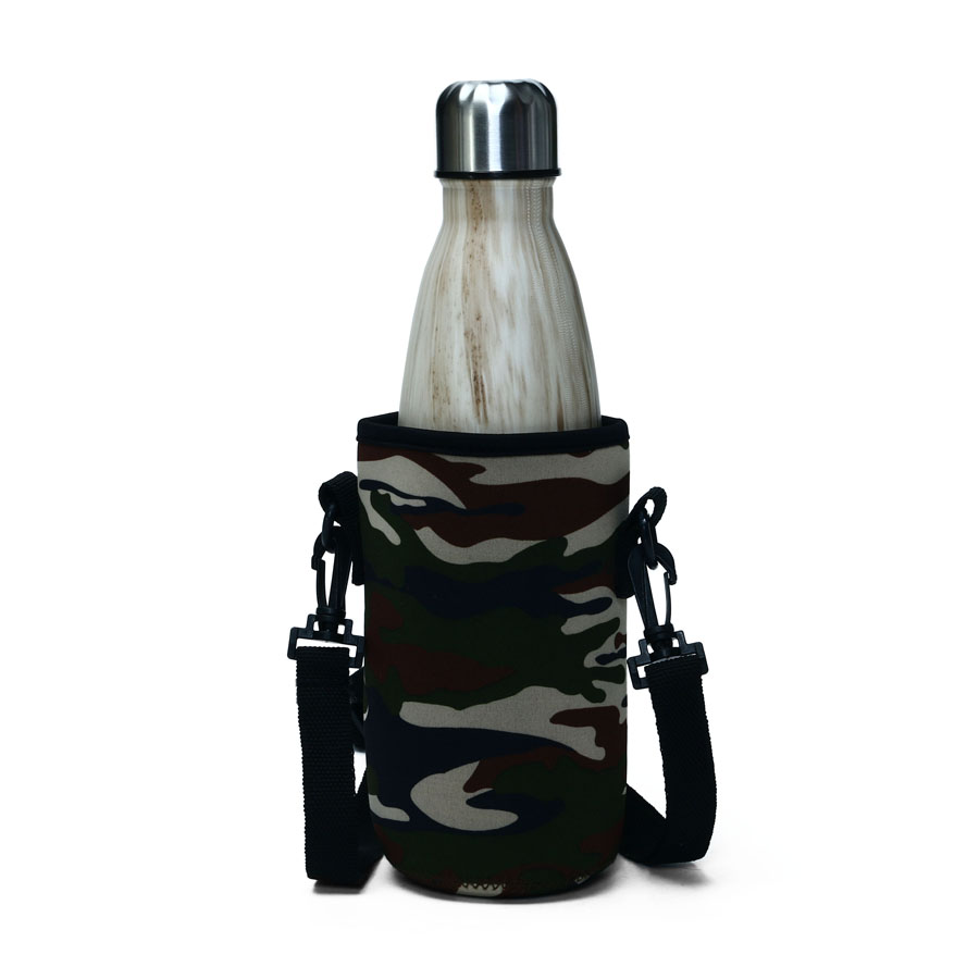 KCASA KC-BG01 Outdoor Portable Water Bottle Kettle Protective Cover Diving Fabric Insulation Set Bag