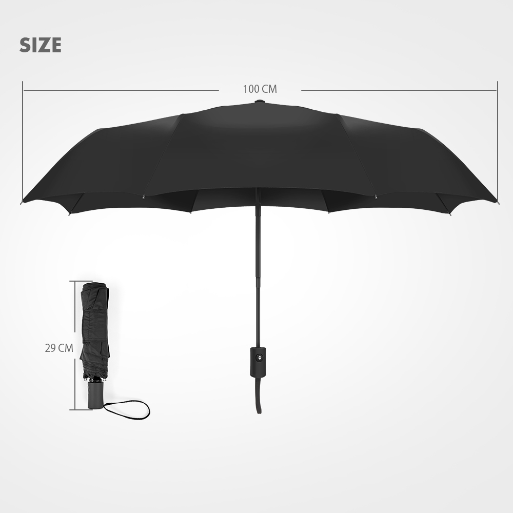 Xmund XD-HK2 Automatic Umbrella 2-3 People Portable Camping UPF50+ Waterproof Folding Sunshade