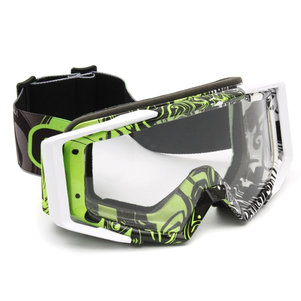 Motocross Helmet Clear Goggles Racing Anti-UV Eyewear For Motorcycle Off Road ATV Quad Dirt Bike