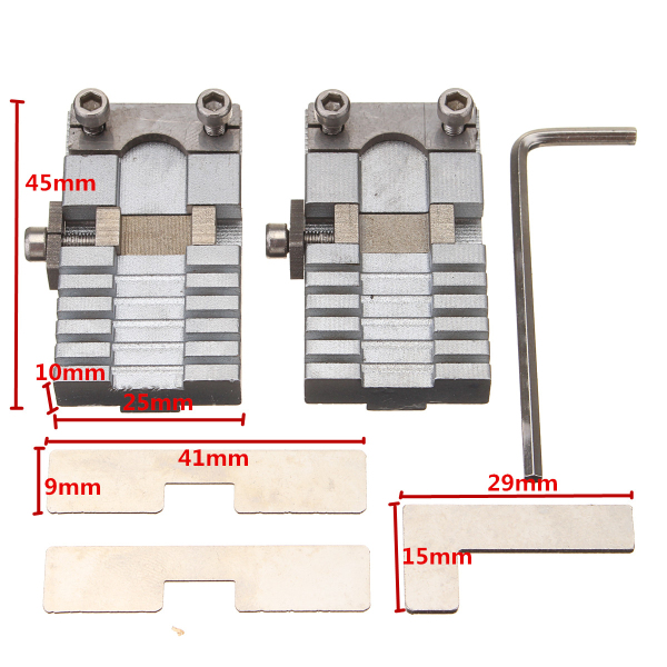 Key Cutting Machine Part Key Clamp For Car Special Hard Keys Cutting Locksmit