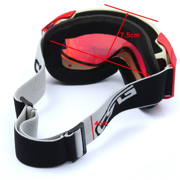 Ski Snowboard Goggles Professional Anti Fog UV Double-Lens Pink Safety Motorcycle Glasses