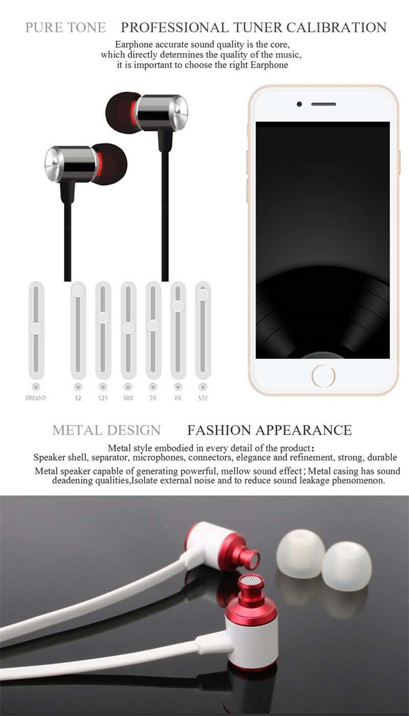 YPZ K6 3.5mm Super Bass Stereo Earbuds Earphone Headphone Headset for Mobile Phone PC MP3 MP4