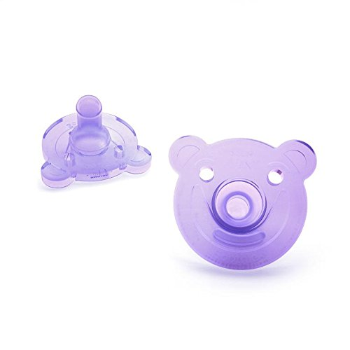 Avent SCF194/02 2pc Infant Silicone Pacifier (For 0-3 M) Baby Soother BPA Free Toddler Orthodontic Nipples Teether