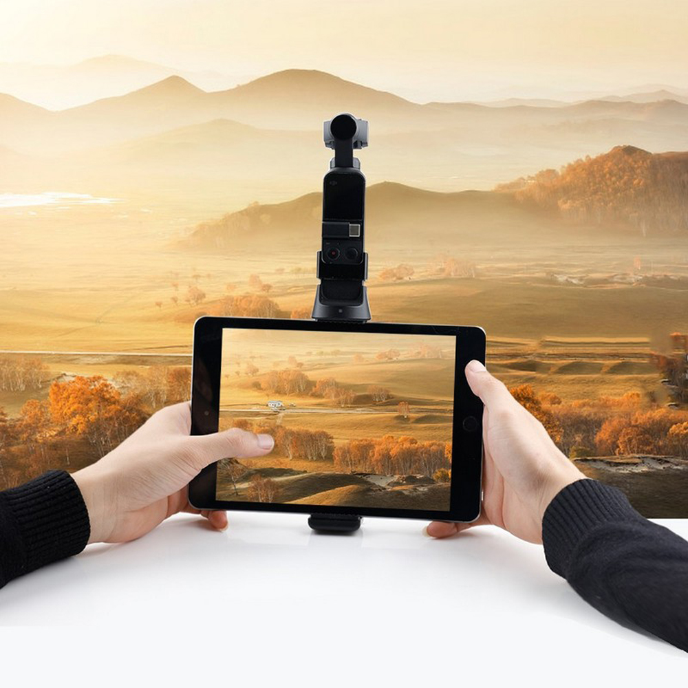 RCGEEK Phone Tablet Monitor Clamp Adapter Mount Bracket for OSMO POCKET Handheld Gimbal - Photo: 5