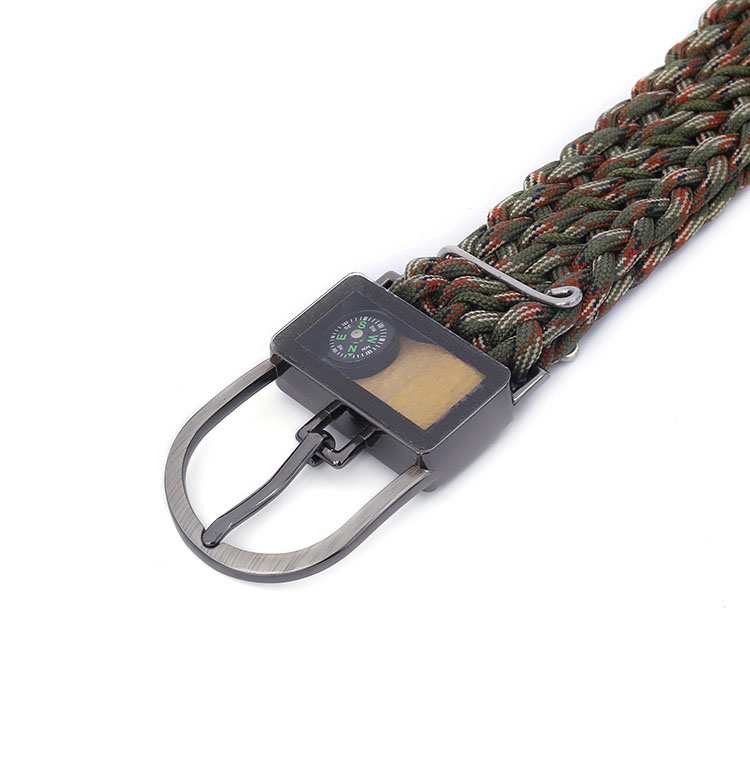 6 In 1 Multi-functions 2M Survival Waist Belt 550 7 Core Paracord Band Max Load 3000kg