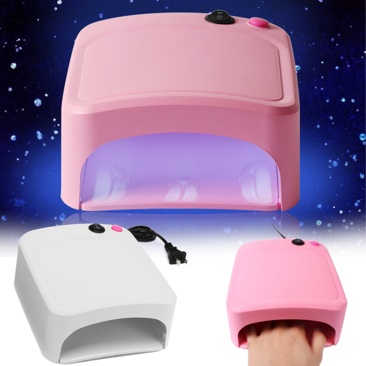 36W UV Lamp Nail Polish Dryer