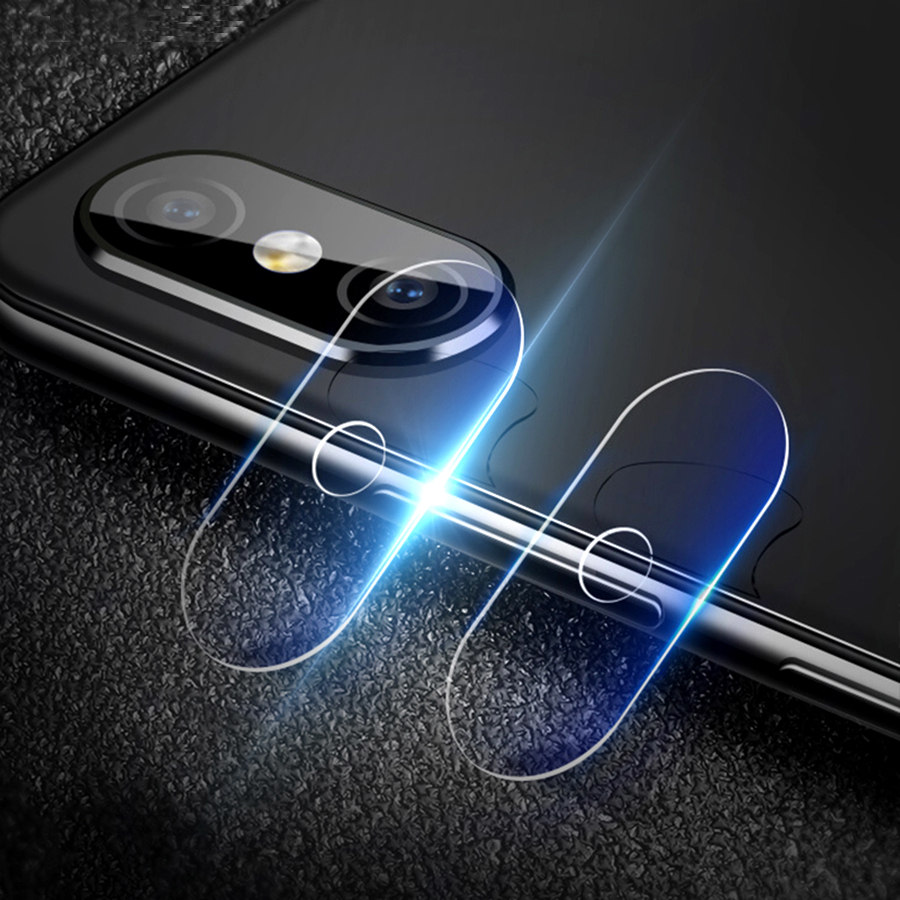 Image of 2 PCS Camera Lens Protector Soft Tempered Glass Rear Camera Phone Lens for Xiaomi Redmi Note 5