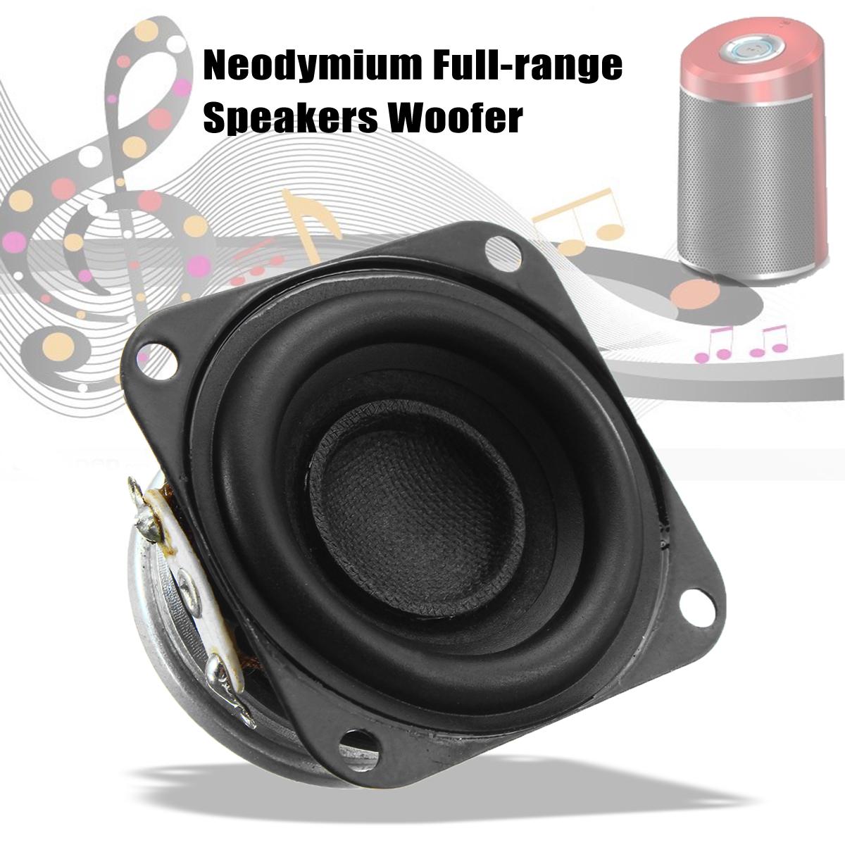 42mm 4Ω 10W DIY Full Range Audio Speaker Stereo Woofer Loudspeaker For bluetooth Speaker