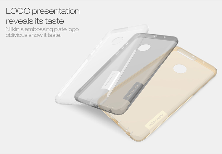 NILLKIN Clear Nature Transparent Soft TPU Case For Huawei Honor 8