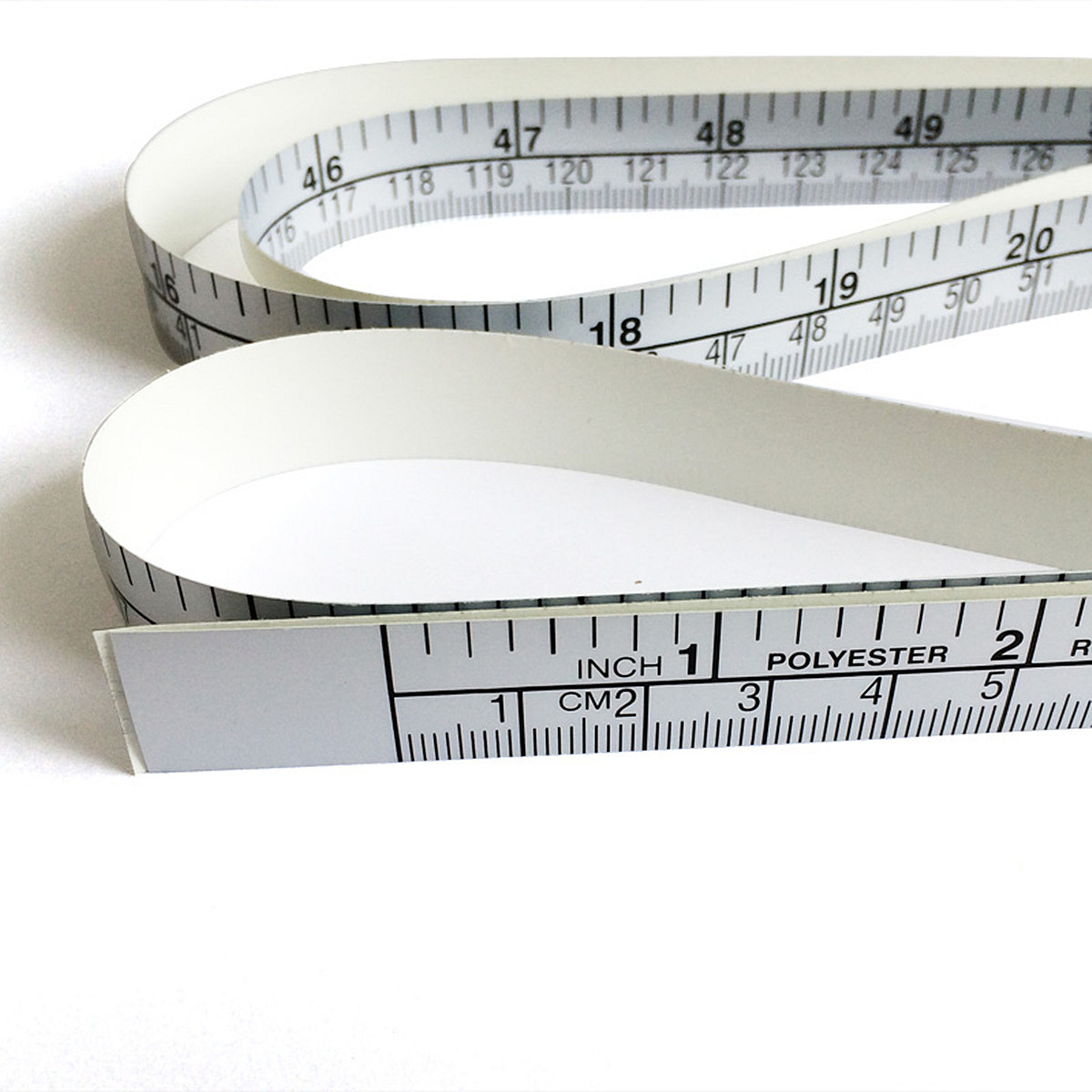 150cm Vinyl Silver Self Adhesive Measuring Tape Ruler Sticker For Sewing Machine