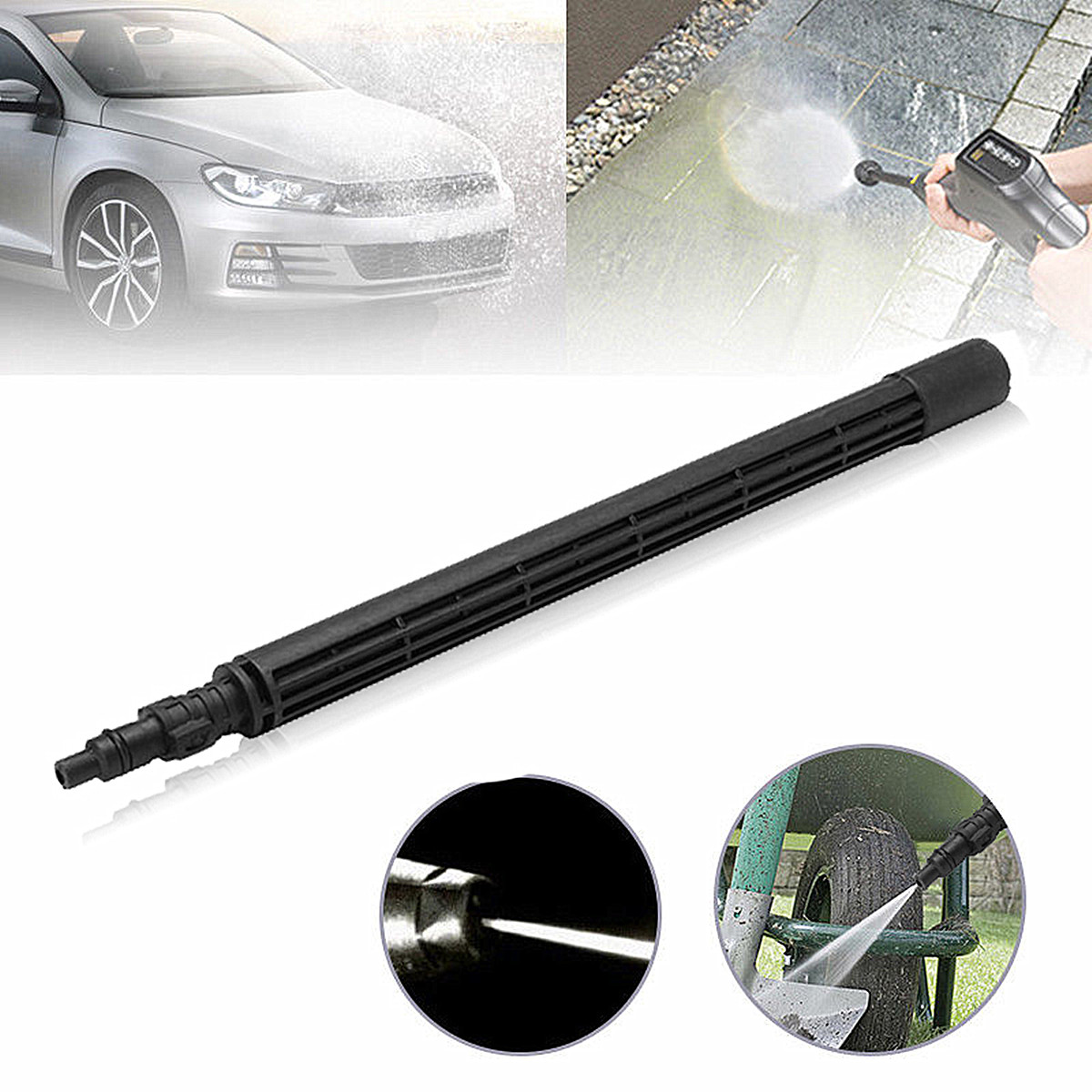 150 Bar Car High Pressure Washer Jet One Way Lance Nozzle Cleaner for K2 Karcher