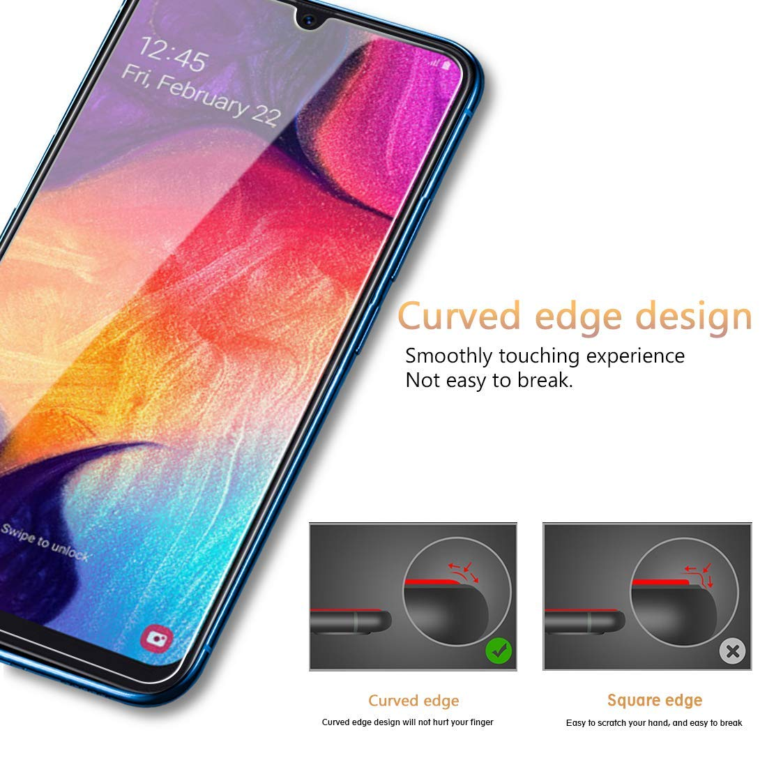 Bakeey Clear Protective Case For Samsung Galaxy A50 2019 Transparent Soft TPU Back Cover