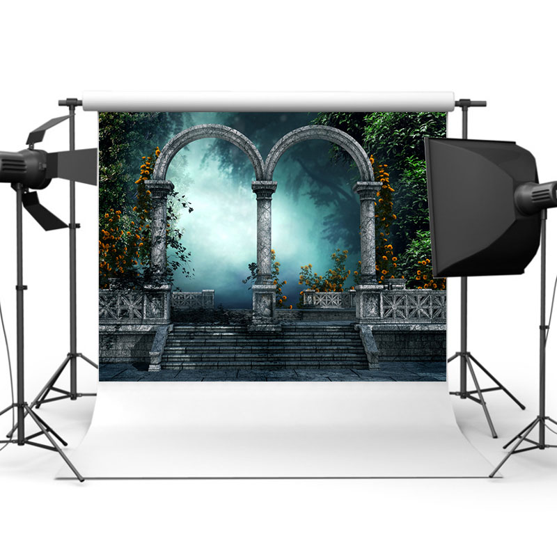 5x3ft Vinyl Fairy Tale Scenery Photography Backdrop Background Studio Prop