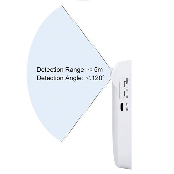 ARILUX® PIR Motion Sensor 6 LED USB Rechargeable Portable Night Light for Closet Cabinet Camping