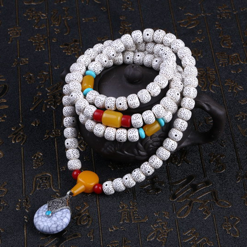 Unisex Retro Xingyue Bodhi Prayer Beads Bracelet jewelry