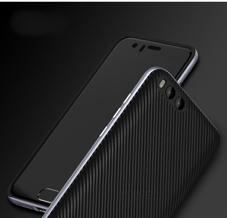 UCASE Hybrid Silicone Back+PC Frame Protector Case For Xiaomi Mi6 Mi 6