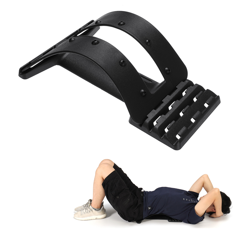 Back Massage Stretcher Fitness Sport Back Support Stretcher Lumbar Support Pain Relief Tool
