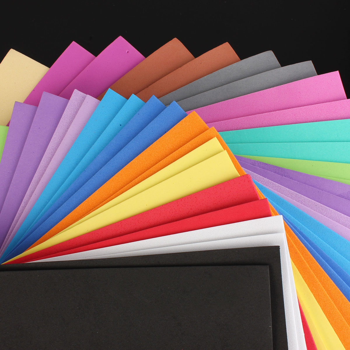 32PCS A4 2mm Foam Sheets Sponge Paper DIY Foam Flower Craft Material DIY Jewelry 16 Color