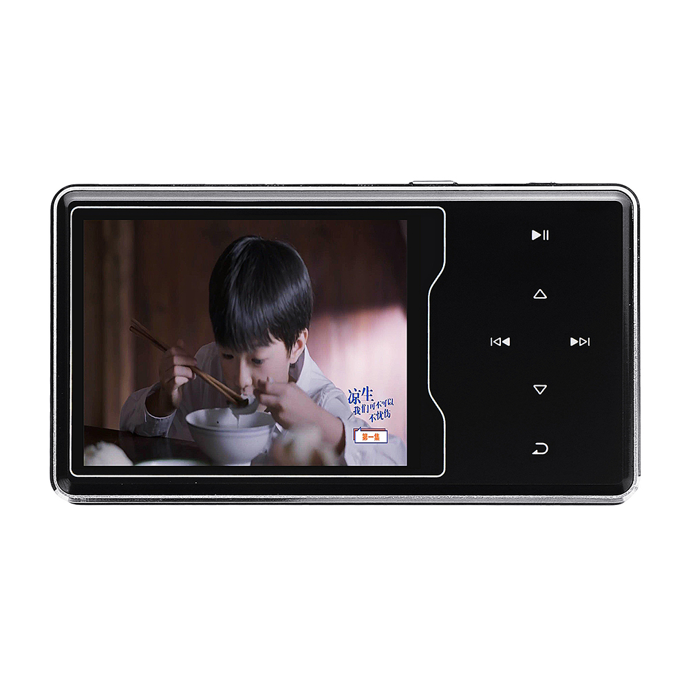 Ruizu D08 8G 2.4 Inch Touch Screen Lossless HIFI MP3 Music Player Support A-B repeat Voice Record FM TF Card