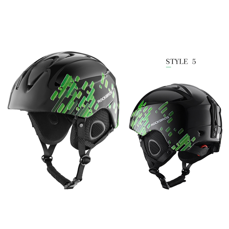 ROCKBROS Sport Outdoor Cycling Snowboard Helmet Ultralight Skiing Helmet Ear Protection Helmet