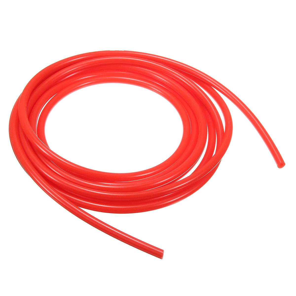 3mm 4 Meter Silicone Vacuum Hose Tube Tubing Line Pipe 13.2 Feet Blue Red Black