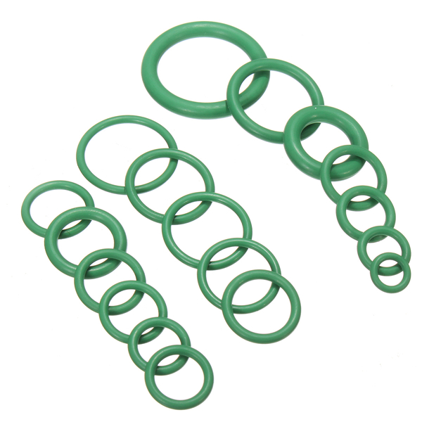265Pcs Green Air Conditioning O-Ring Rubber Rings Waterproof Washer