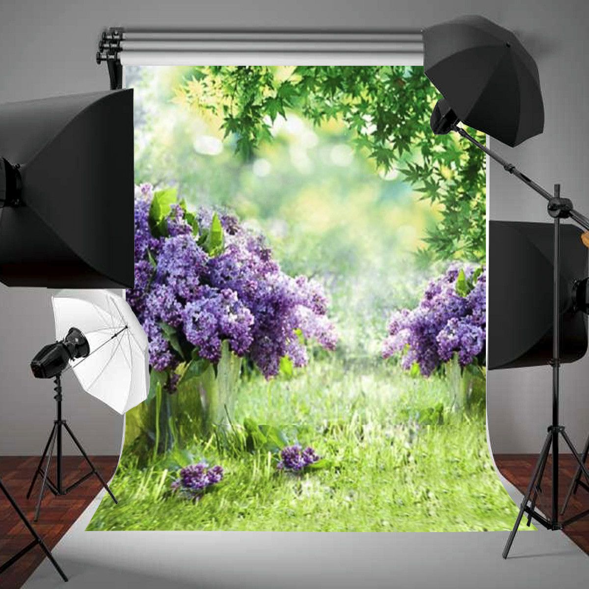 Spring Outdoor Green Grass Photography Background Backdrop For Studio 3x5ft