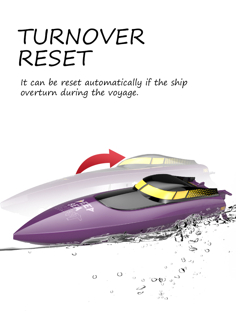 HR iOCEAN 1 2.4G High Speed Electric RC Boat Vehicle Models Toy 25km/h - Photo: 13