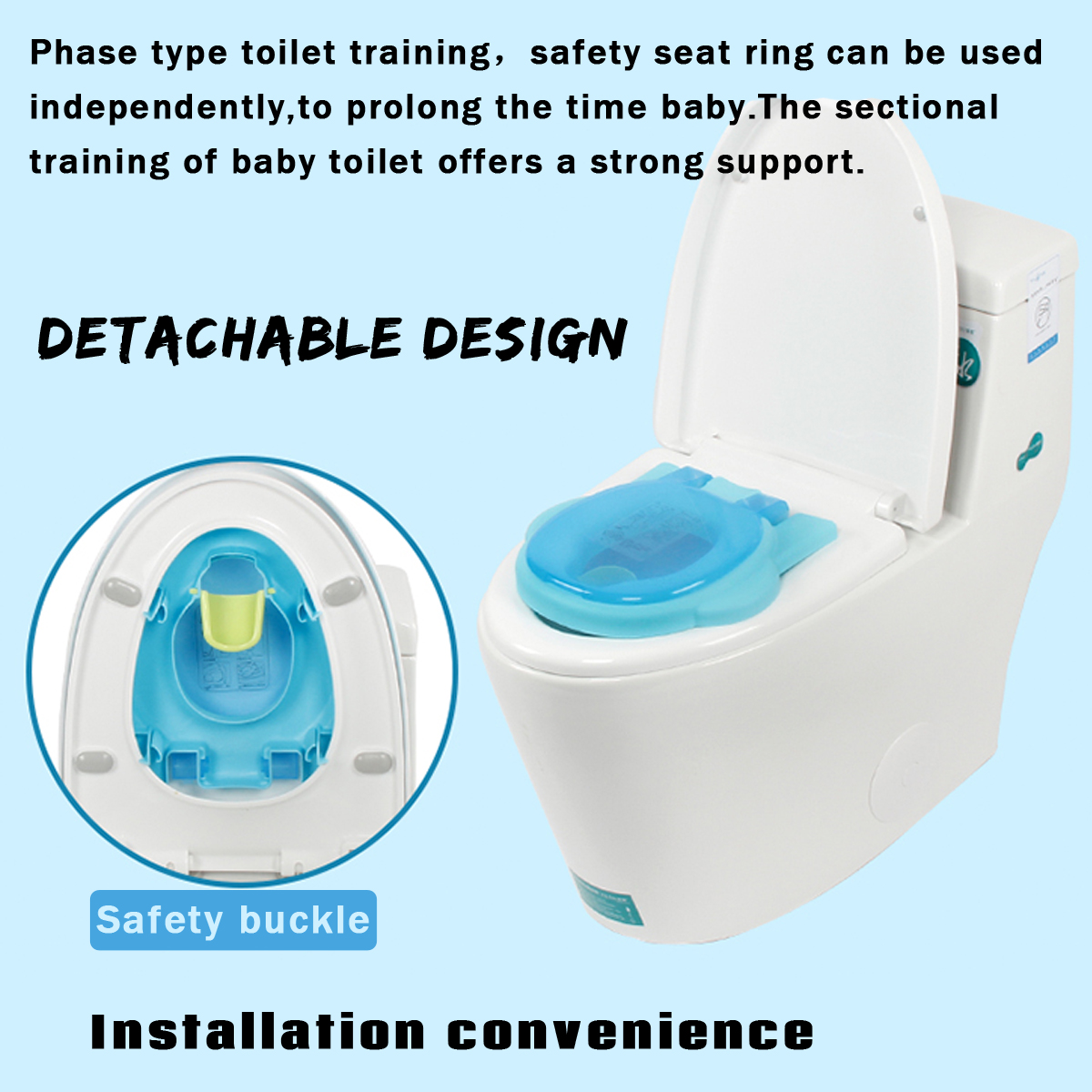 2 In1 Portable Music Kids Baby Toilet Trainer Child Toddler Potties Training Seat Fun Chair