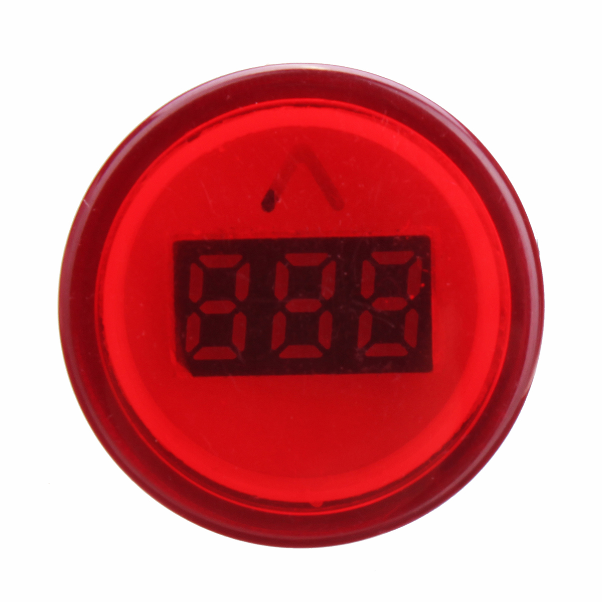 22mm AC60-500V LED Digital Display Voltmeter Voltage Meter Indicator Light