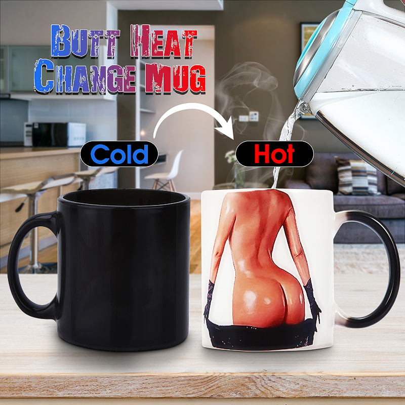 Coffee Mug Cup Margaret Atwood Gifts Heat Colour Change Joke Funny