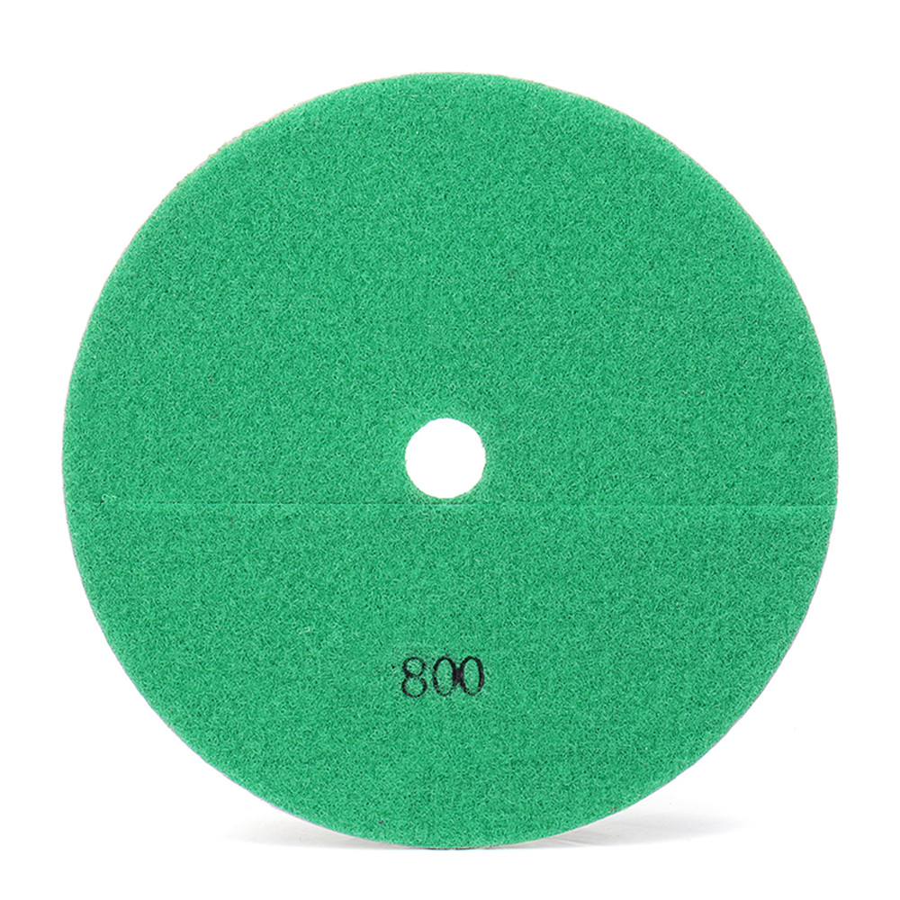 7 Inch Diamond Granite Concrete Marble Tile Stone Wet or Dry Polishing Pad