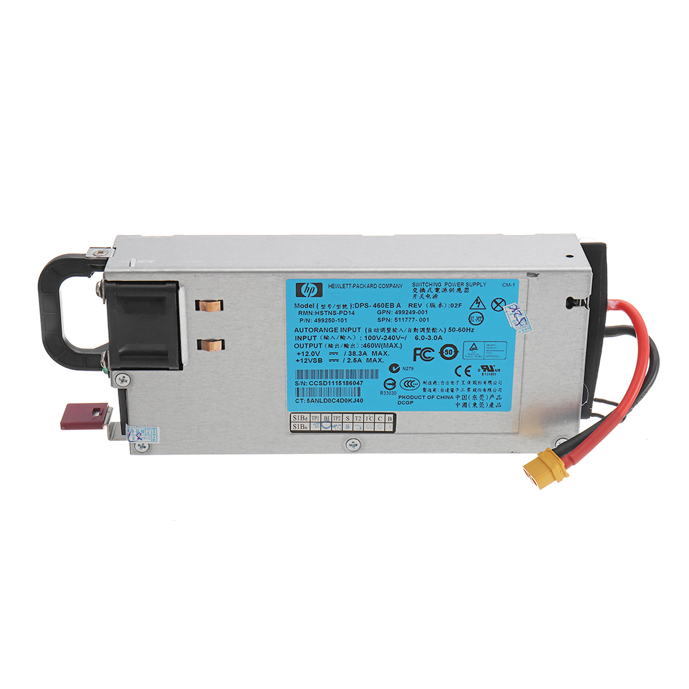 HP DC 12V 460W 38A RC Battery Charger Balance Power Supply with XT Plug For ISDT Q6 SKYRC B6 NANO - Photo: 2