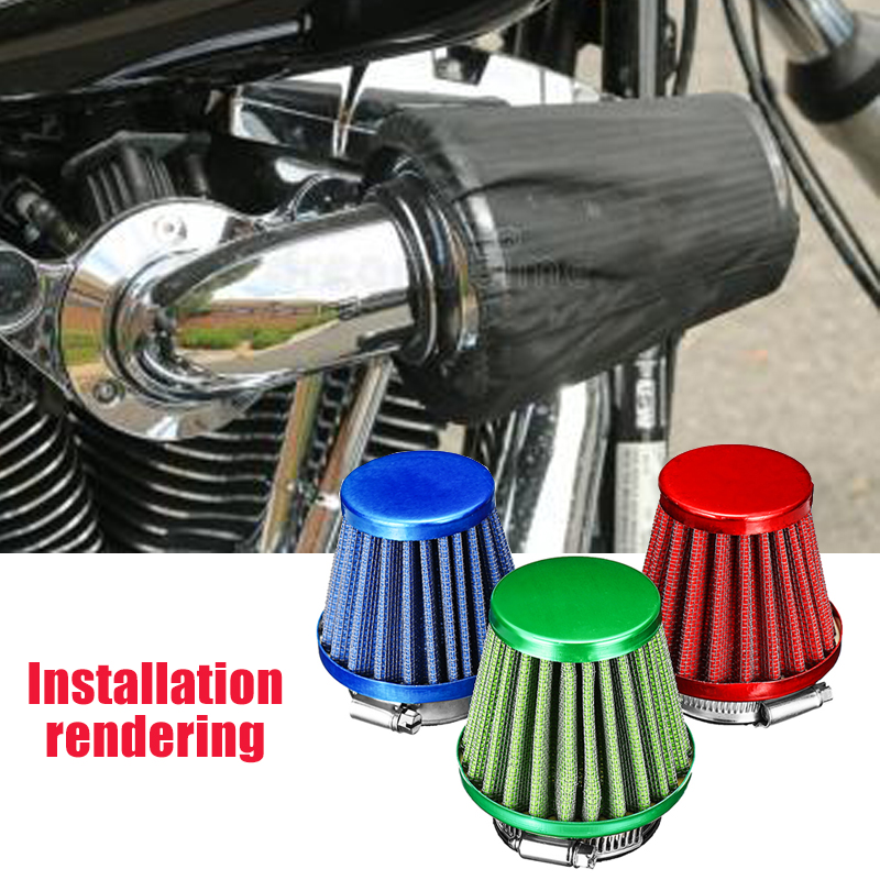 44mm Air Filter Intake Induction Kit For 150CC 200CC Off Road Motorcycle ATV