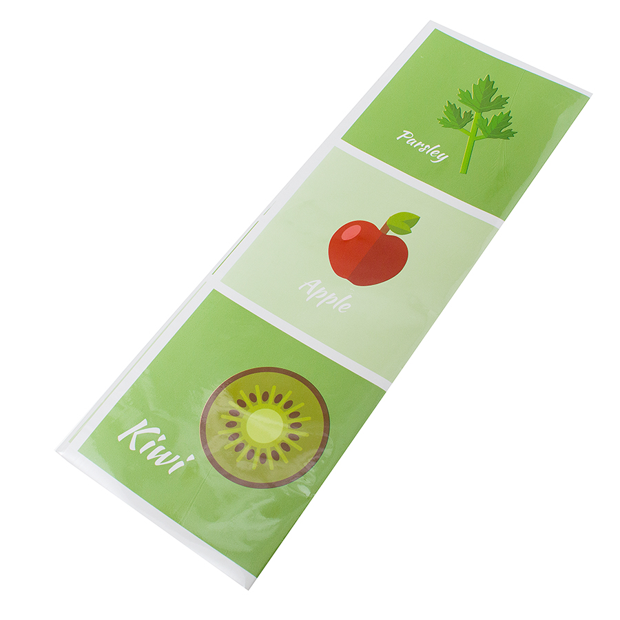 KCASA KC-WS016 45 x 75cm Removable Kitchen Vegetable Fruit Oil-proof Waterproof Wall Sticker Paper