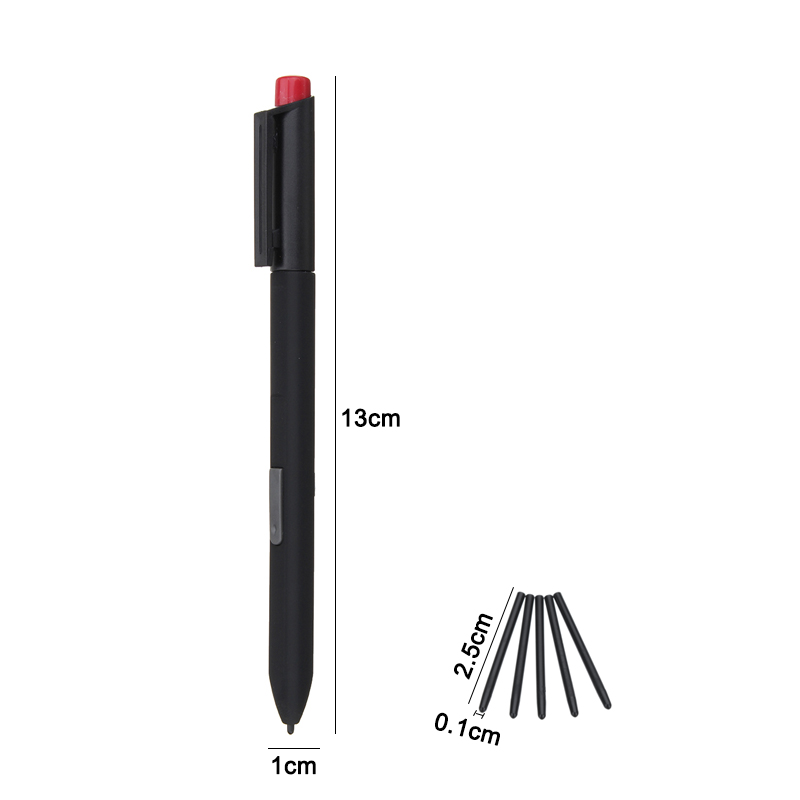 Black Stylus Replacement Surface Pen For Microsoft Surface Pro 1 Pro 2 Tablet